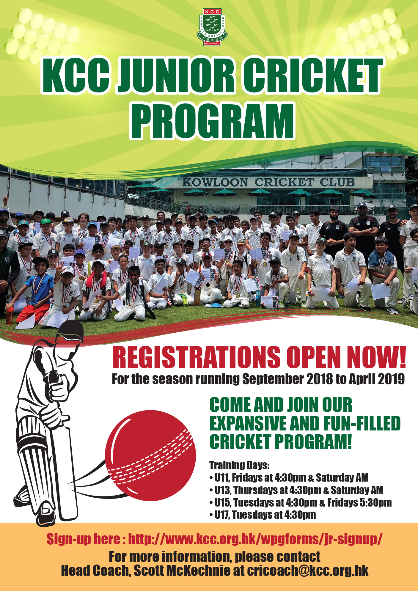 201806-Junior Cricket Program-poster